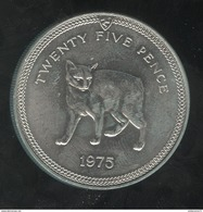 25 Pence Ile De Man 1975 - Monnaies