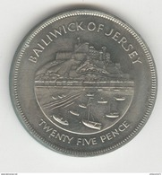 25 Pence Jersey 1977 - Jersey