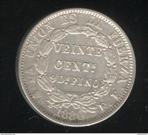 20 Centimos Bolivie 1880 - TTB+ - Bolivia