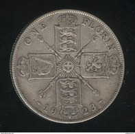 1 Florin Grande Bretagne / United Kingdom 1923 TTB - 1902-1971 : Monnaies Post-Victoriennes
