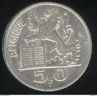 50 Francs Belgique - 1951 - Belgique TTB+ - 1945-1951: Régence