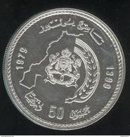 50 Dirhams Maroc 1979 - Frappe 5500 Ex / Mintage 5500 - Morocco