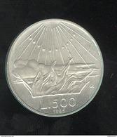 500 Lires Italie 1965 Dante - TTB+ - 1946-… : Republic