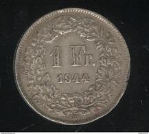 1 Franc Suisse / Switzerland 1944 TTB - Suisse