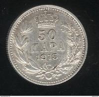 50 Para Serbie / Serbia 1915 SUP - Serbia