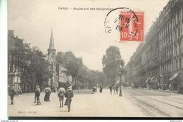 CPA Paris - Boulevard Des Batignolles -  Circulée - France