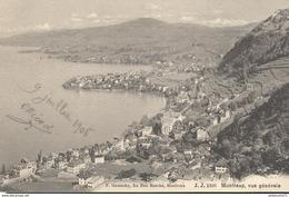 CPA  Montreux - Vue Générale  -  Circulée 1906 - VD Waadt