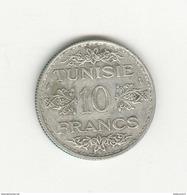 10 Francs Tunisie 1935 - Protectorat Français - TTB+ - Tunisie