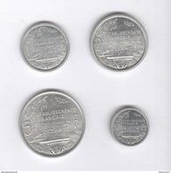 Lot Etablissements Français De L'Océanie - 0,50 , 1 , 2 , 5 Francs - Colonie Française - SUP - France
