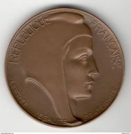 Médaille Ministère Des Affaires Sociales - Caisse Nationale De Prévoyance - Attribuée 1967 - Professionals / Firms