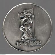 Médaille Jeunes Pompiers Volontaires Allemands - Dank Und Anerkennung - Hessische Jugendfeuerwehr - Pompiers