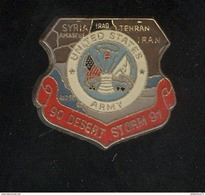 Pin's United States Army - Desert Storm - 90 91 - Army & War