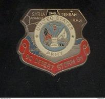 Pin's United States Army - Desert Storm - 90 91 - Militaria