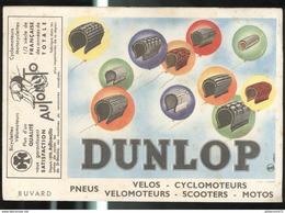 Buvard Dunlop + Automoto Saint Etienne - Bon état - Bikes & Mopeds