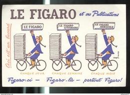 Buvard Le Figaro Et Ses Publications - Bon état - Papel Secante