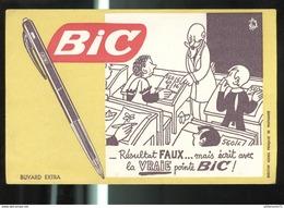 Buvard Bic - Illustrateur Jean Effel - Bon état - Papeterie