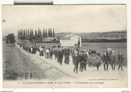 CPA Ars - 01 - La Libre Pensée à Ars 6 Juin 1906 - Formation Du Cortège - Non Circulée - Ars-sur-Formans
