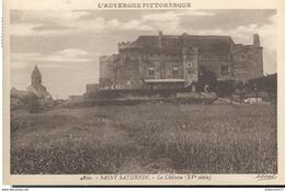CPA  Saint Saturnin - Château - Circulée 1937 - Sonstige Gemeinden