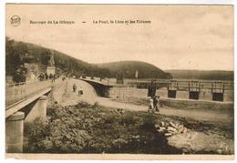 Barrage De La Gileppe, Le Pont, Le Lion Et Les Ecluses (pk48992) - Gileppe (Stuwdam)