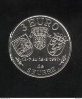 3 Euros De Seurre ( 21 ) 1997 - Maison Bossuet - Euros Des Villes - Neuf Sorti De Rouleaux - Euros Of The Cities