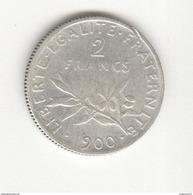 2 Francs France 1900 TB+ - I. 2 Francs