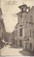 CPA  Thizy - Hôtel De Ville - Rue Auguste Perrin - Non Circulé - Thizy