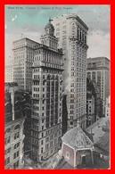 CPA  NEW YORK (Etats-Unis)   Corner Of Nassau & Wall Streets...I0004 - Wall Street