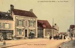 LE CHATELET-EN-BRIE LE COIN MUSARD (CARTE TOILEE ET COLORISEE) - Le Chatelet En Brie