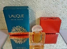 """Miniature  """"LALIQUE""""  Eau De  Toilette  4,5 Ml Dans Sa Boite  (M076-2) - Miniatures Modernes (à Partir De 1961)"""
