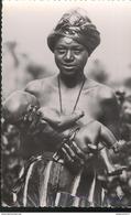 CPSM Coloniale - AEF - Femme Et Enfant Foulbé - Non Circulée - Afrique