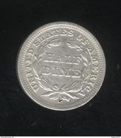 Half Dime USA 1843 TTB+ - Émissions Fédérales