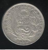 1/2 Sol Pérou 1935 TTB+ - Pérou