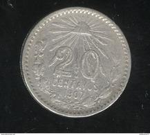 20 Centavos Mexique / Mexico 1907 TTB+ - Mexique