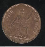 1 Penny Angleterre 1965 Elisabeth II TTB++ - 1902-1971 : Monnaies Post-Victoriennes