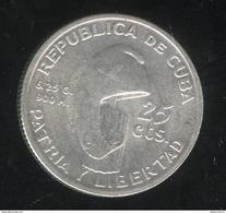 25 Centavos Cuba 1953 TTB+ - Cuba