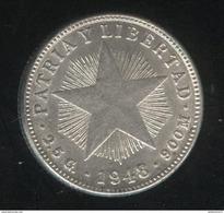 10 Centavos Cuba 1948 TTB+ - Cuba