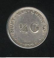 1/4 Gulden Curacao 1944 TTB - Curaçao
