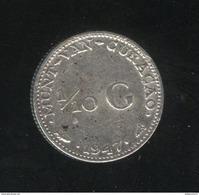 1/10 Gulden Curacao 1947 TTB - Curaçao