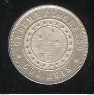 500 Réis Brésil / Brasil 1889 - TTB+ - Brésil