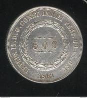 500 Réis Brésil / Brasil 1864 - SUP - Brésil