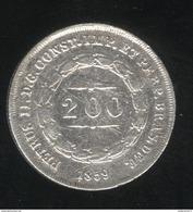 200 Réis Brésil / Brasil 1859 - TTB - Brésil