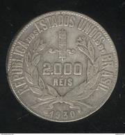 2000 Réis Brésil / Brasil 1930 - Brésil