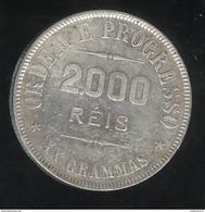 2000 Réis Brésil / Brasil 1907 - TTB - Brésil