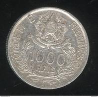 1000 Réis Brésil / Brasil 1912 Etoiles Liées / Estrelas Ligadas - TTB - Brésil