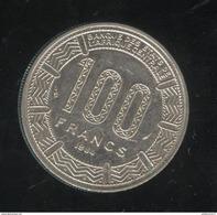 100 Francs République Gabonaise 1984 - TTB - Gabon