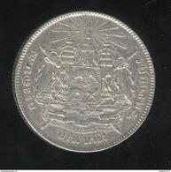 1 Bath Thailande Rama V 1896-1900 - TTB - Thaïlande