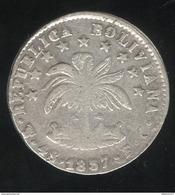 4 Soles Bolivie 1857 - TB+ - Bolivie