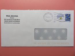 PAP - Entier Postal - Arbre à Feuilles - Paul Bezzina - Notaire - Bd E. Borel - St Affrique (12)  Flamme Muette 04.08.09 - Entiers Postaux