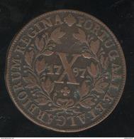 10 Réis Portugal 1797 TTB - Portugal