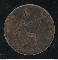 1 Penny Angleterre 1900 Victoria TTB - 1816-1901 : Frappes XIX° S.